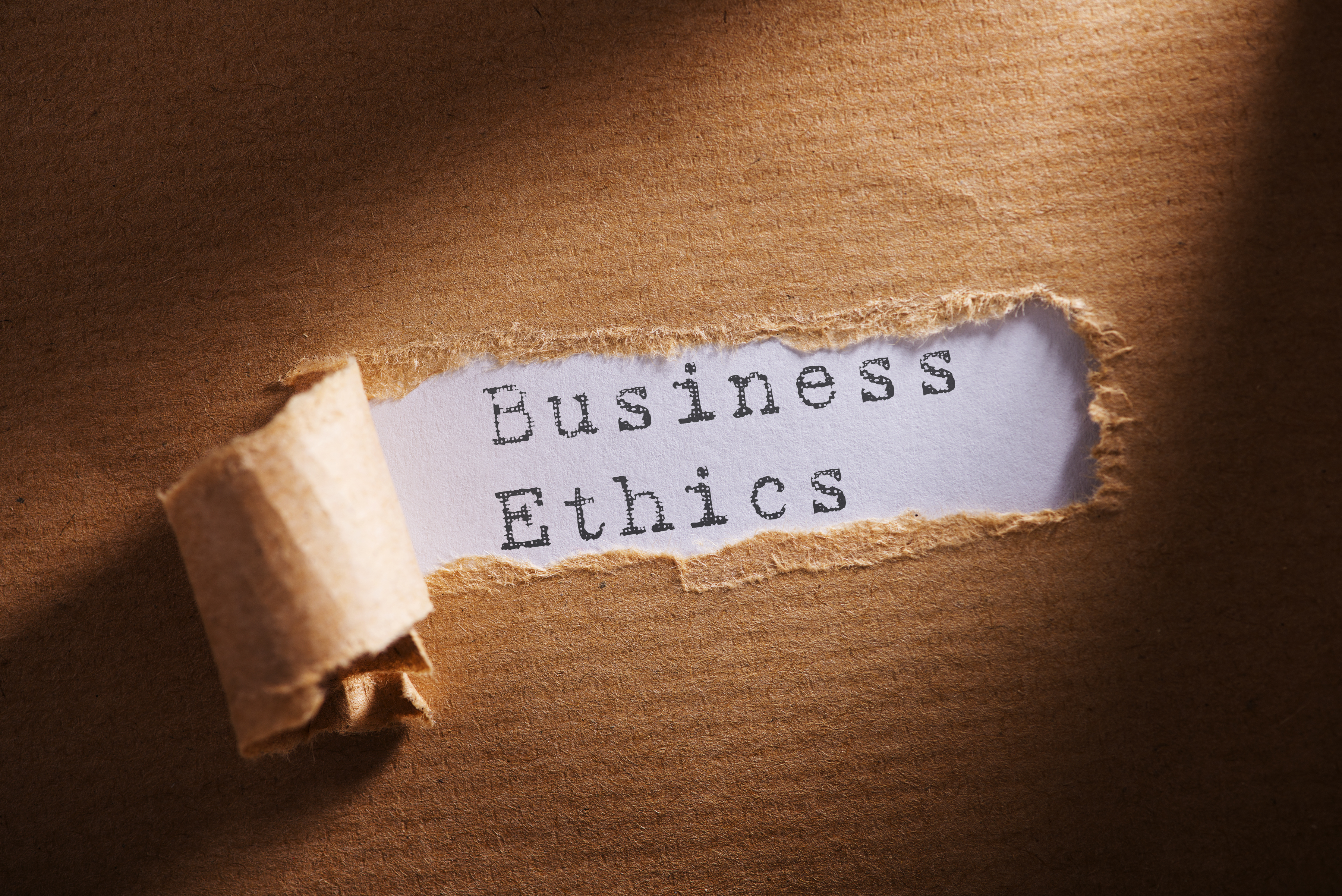business ethics position paper